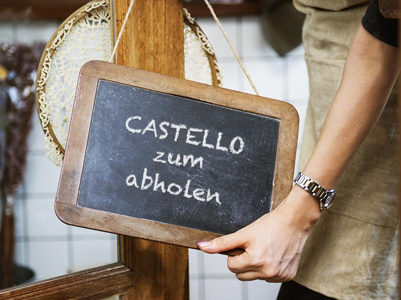 Castello zum abholen